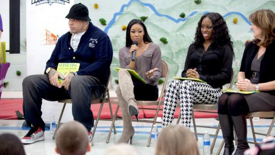 WWE and Pearson Foundation host a reading celebration at Pennington Elementary School in Nashville, Tenn.
