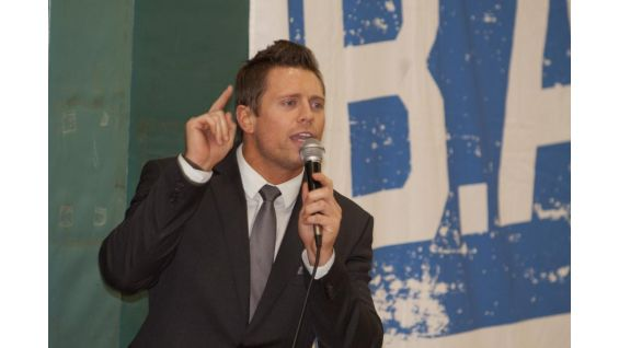 The Miz spreads be's a STAR's important anti-bullying message.