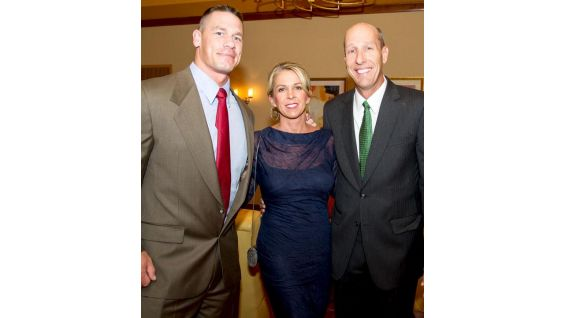 Cena with Make-A-Wish President and CEO David A. Williams.