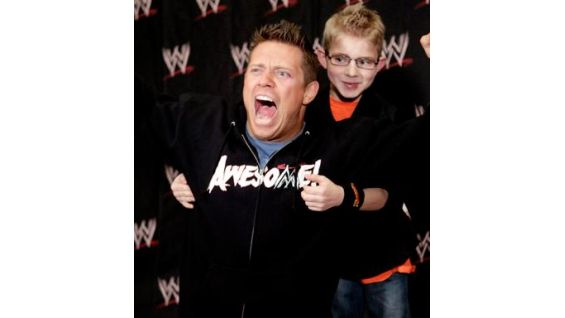 It's The Miz's first time granting an individual wish to a WWE Circle of Champions honoree!
