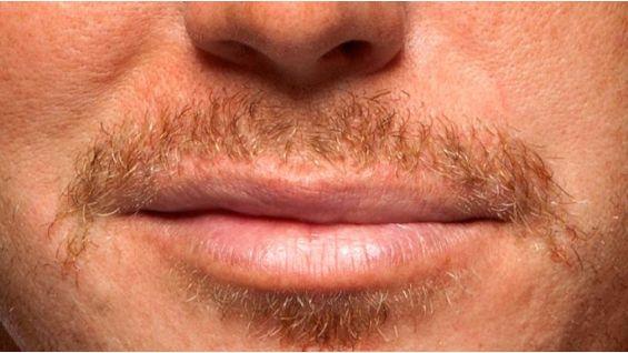 He's been growing his mustache since the beginning of November, too.