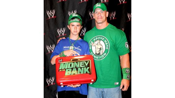 WWE Circle of Champions honoree James, 14, is also from Make-A-Wish.