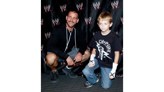 WWE has a 30-year relationship with Make-A-Wish and has granted more than 3,500 wishes!