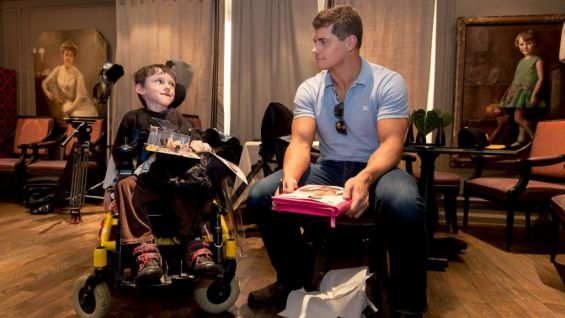 The WWE Superstar is in Paris to promote WWE's upcoming tour in France.