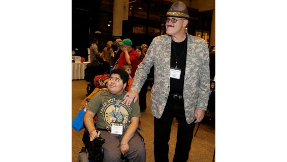 The WWE Hall of Famer has always been a devoted supporter of the Muscular Dystrophy Association.
