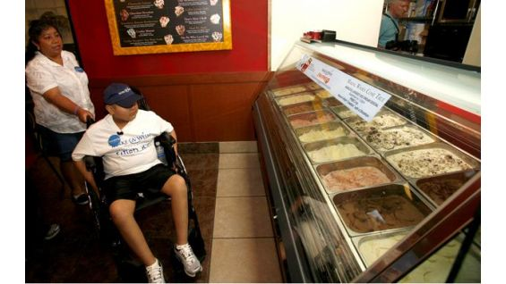 WWE is teaming with Make-A-Wish Foundation and Cold Stone Creamery.