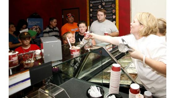 """The World's Largest Ice Cream Social"" on Sept. 24 will be at all Cold Stones."