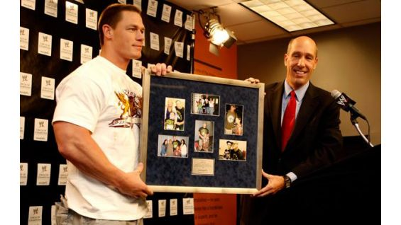 Last year, Cena was honored for granting 100 wishes to children since 2004.