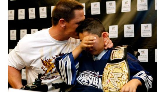 WWE and Make-A-Wish signed a multi-year partnership in February 2008.