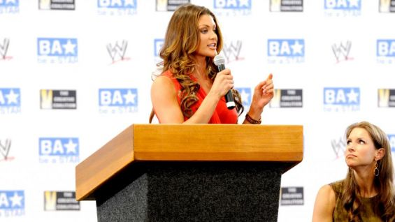Former WWE Divas Champion Eve shared her own experiences of dealing with bullies.