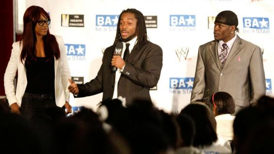 The Superstars share their personal stories about bullying and encouraged everyone to be a STAR by standing up to bullies and telling a parent, teacher or guardian when they're having issues with bullies.