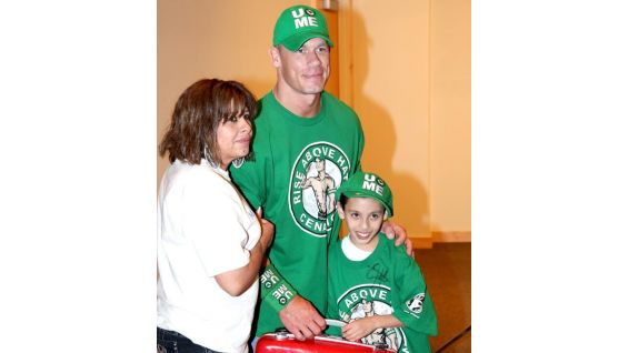 Cena recently granted his 300th wish with Make-A-Wish. His wish count keeps growing each week!