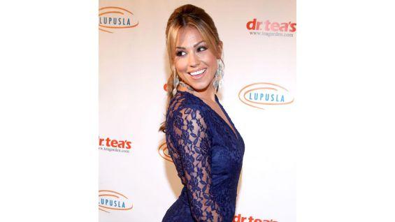 TV personality Jessica Hall.