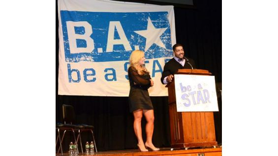 Otunga and Natalya answer the kids' questions about WWE and be a STAR.