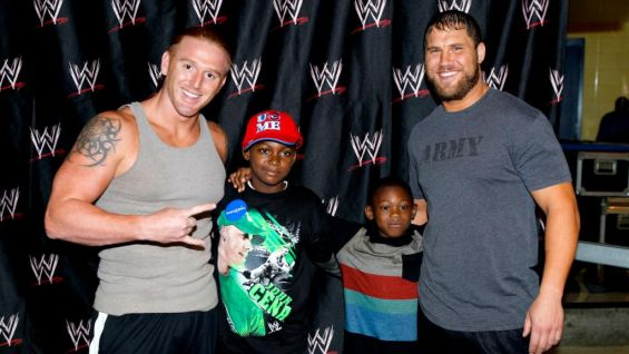 They also get to say hello to Heath Slater and Michael McGillicutty!