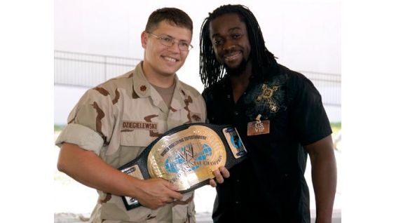 Each holiday season, WWE goes to the Middle East for Tribute to the Troops.