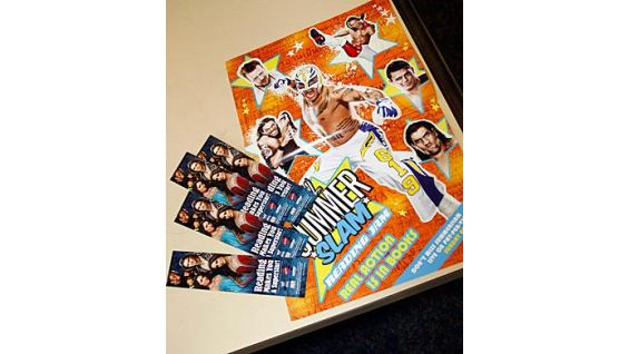Join the SummerSlam Reading Jam and recieve a free WWE poster!
