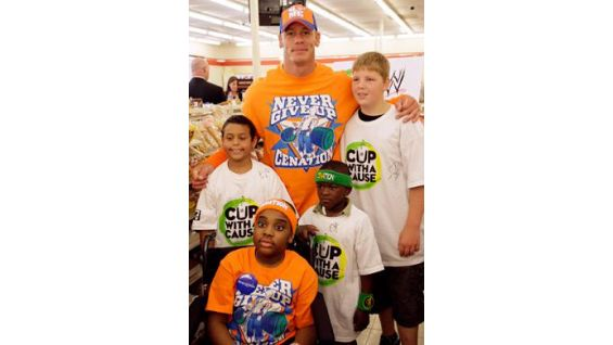Visit www.wwe.com/johncenawish for more on Cena's Wishes.