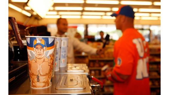 Get your Cena Cup with a Cause until Aug. 30 at 7-Eleven!