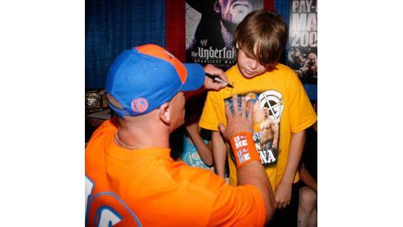 The Raw Superstar also meets Robert Wade, 12.