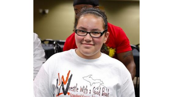 Seventh grader Shea-Lin is a participant in this year's Challenge.
