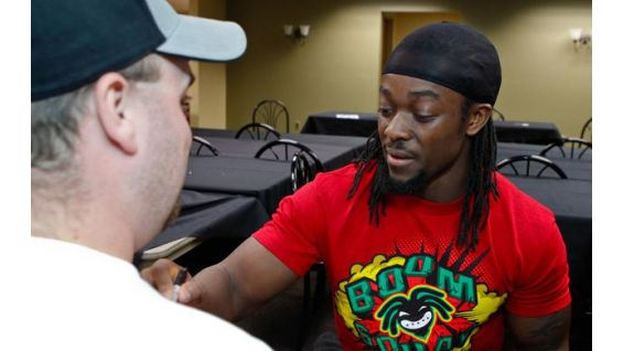 Kingston is a big supporter of this year's WrestleMania Reading Challenge.