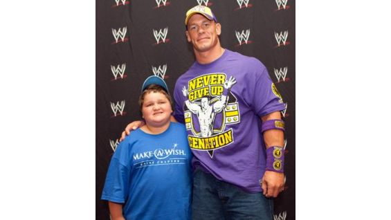 Chris, 10, is from the Maine Chapter of the Make-A-Wish Foundation.