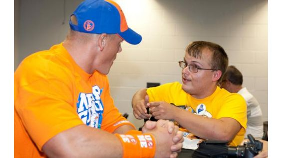 In addition to Crystal, Cena meets Quinton Tozier while in San Antonio.