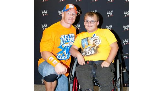 Cena has been devoted to the Make-A-Wish Foundation since 2004.