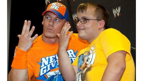Cena earned the Chris Greicius Award at WrestleMania XXVI in Phoenix.