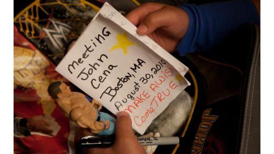 Cena was named Wish Ambassador at the 25th Anniversary of WrestleMania.