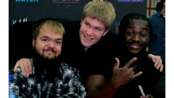 More than 400 WWE fans attended the event in Stamford, Conn.!