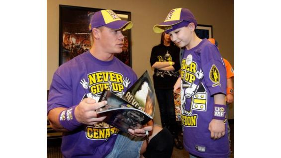 The WWE Superstar chats with Jesse before Raw in New Orleans.