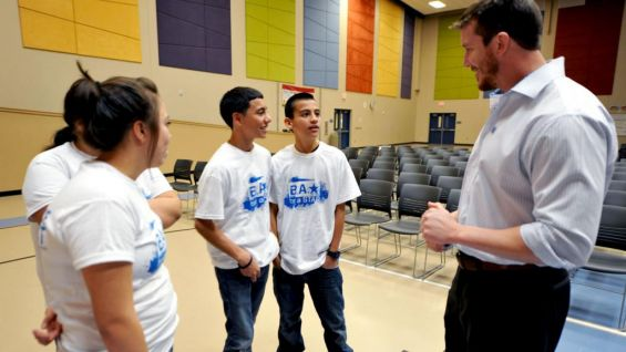 For more than a year and a half, WWE Superstars and Divas have visited more than 40 schools to spread the be a STAR message.