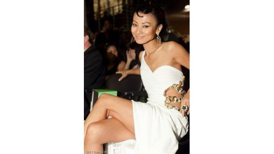 Actress Bai Ling at the Los Angeles event.