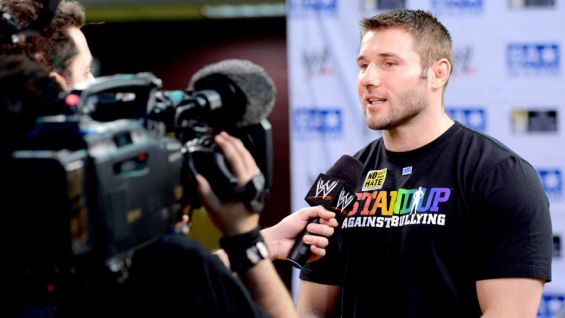 Rugby star Ben Cohen, who started The StandUp Foundation, also joined the Superstars for the rally.