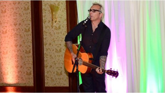 Everclear's Art Alexakis performs at the star-studded charity event.