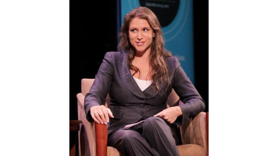 """""""It's very easy to save a life, and we realize that today,"""" says Stephanie McMahon. """"$10 saves a life."""""""