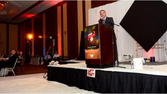 The auction continues at the Fourth Annual First Pitch Celebrity Gala.