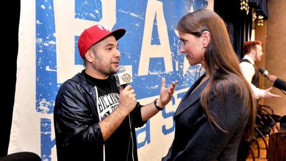 Peter Rosenberg interviews McMahon for HOT 97 FM.