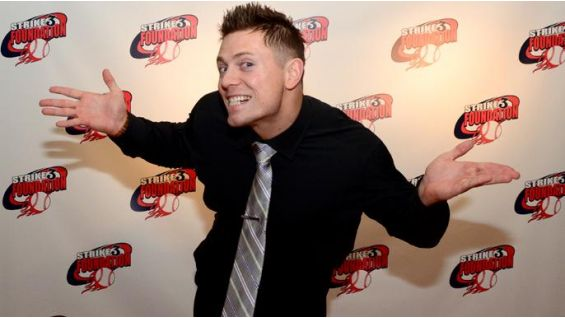 The Miz is pleased with the money raised for The Strike 3 Foundation.
