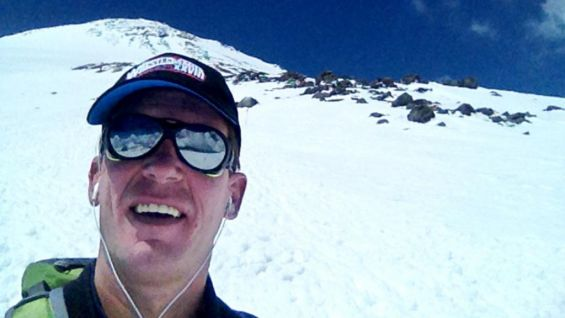 JBL made it 1,000 feet away from the summit of Mt. Elbrus before a storm forced his crew back down the mountain.