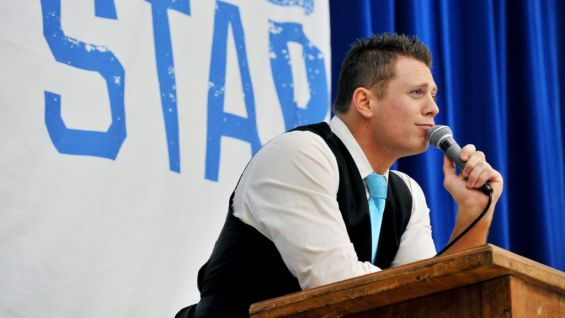 The Miz talks about the barrage of insults he gets over social media every day, and how he uses positivity to counter it.