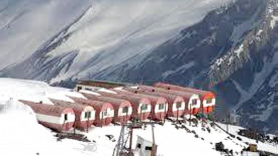 This is where JBL and his group will set up base camp before attempting to climb Mt. Elbrus.