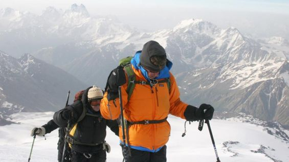 """""""We all have mountains to climb, mine ahead of me were just literal,"""" he said."""