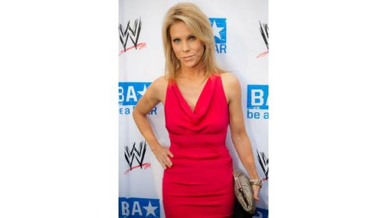 Actress Cheryl Hines poses for the media.