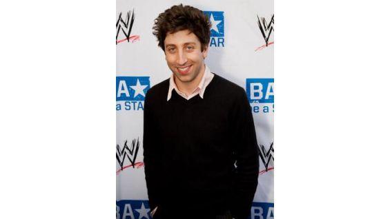 """Simon Helberg of """"The Big Bang Theory"""" at the be a STAR kickoff."""
