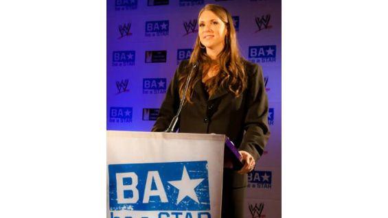 Stephanie McMahon kicks off the be a STAR event.