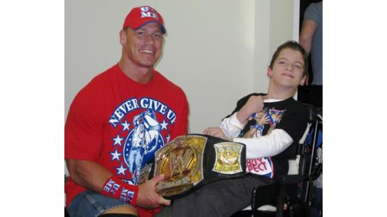 Dritan's lifelong dream to meet John Cena comes true before a live event in Melbourne, Australia.