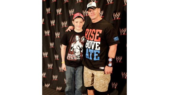The Cenation leader always brings smiles to the faces of WWE Circle of Champions honorees.